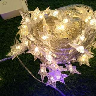Decoration LED small star lights, 29 feet
