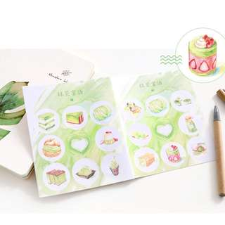 Sticker Set (Matcha) (Ref No.: 290)