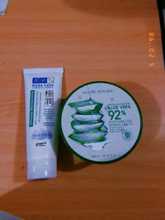 Nature Republic Aloe Vera & Hada Labo Facial Wash