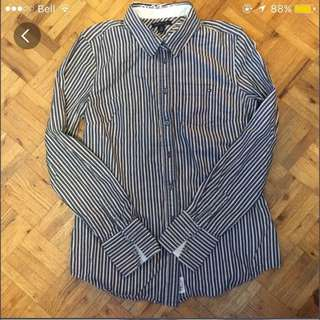 Tommy Hilfiger Striped Button Up
