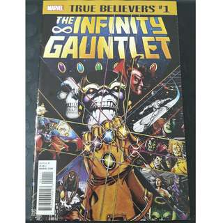 Infinity Gauntlet #1 (True Believers 2018)