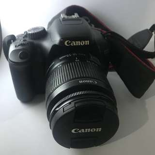 Canon 550D dslr camera full package