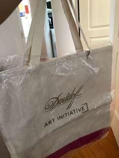 Authentic Davidoff Canvass Bag