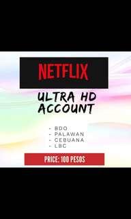 Premium Netflix Account for 1month