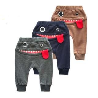 Monster Baby Pants, Long Pants