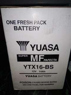 YUASA Battery 12v