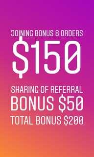 Honest bee promo $150+$50