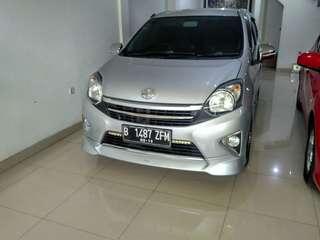 Toyota agya trd sportivo matic 2014