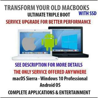 Macbook Windows Android Boot Camp