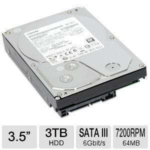 Toshiba 3TB Internal HDD