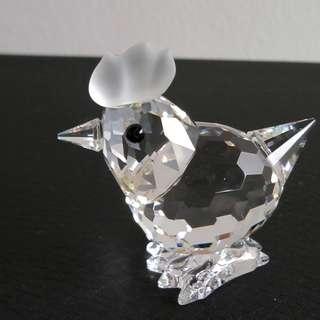 48 Swarovski Crystal - Miniature Hen