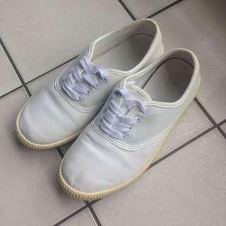 🚚 MUJI/有機棉休閒鞋