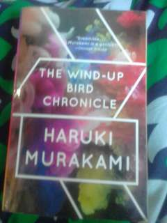 Used books. 2 haruki murakami books: norweigan wood and the wind up bird chronicle and 1 Matheson's Steel
