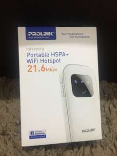 pocket wifi (never been used) (negotiable)