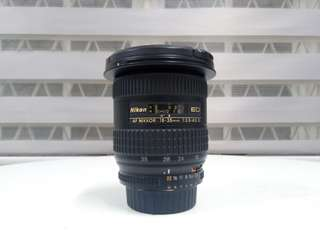 Nikon 18-35mm F3.5-4.5 D ED IF Super Wide for FX