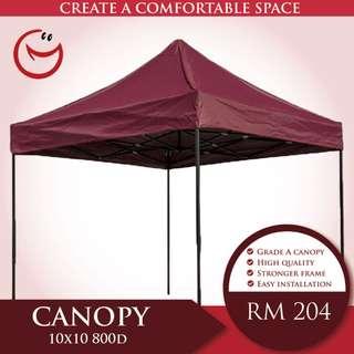 Canopy High Quality10'x10' 800D Night Bazaar Street Hawker Portable Outdoor Tent Khemah