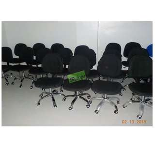 40pcs C-605G CLERICAL CHAIR COLOR BLACK--KHOMI