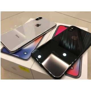 Iphone X 64gb dan 125gb readystock!!