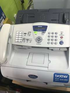 Brother brand FAX -2820 & Copier with new toner cartridge  (negotiable)