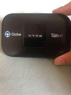 Globe Tattoo Wifi
