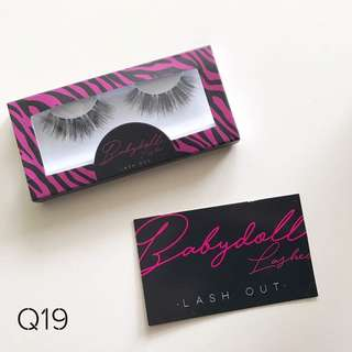🌸INSTOCK🌸 Babydoll Lashes in Q19