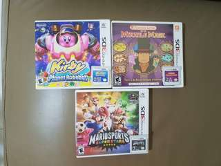 Used 3DS Games for sale
