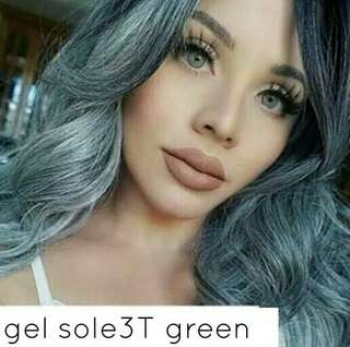 Softlens Gel sole 3t green