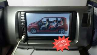 DOUBLE DIN MIRROR LINK PLAYER FOR PERODUA ALZA (PNP)