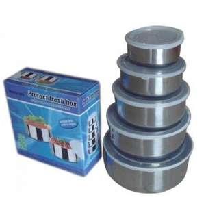 Rantang Susun 5 Stainless Steel