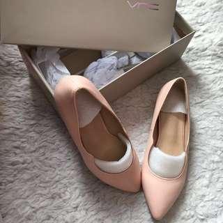 VNC Flat shoes 3cm Pink