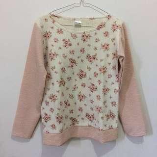 Flower sweater top berrybenka