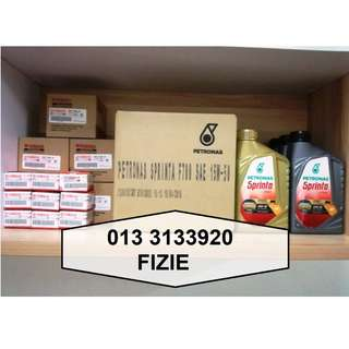 PETRONAS Sprinta F900 Fully Synthetic Motor Oil 10W-40 (1L)