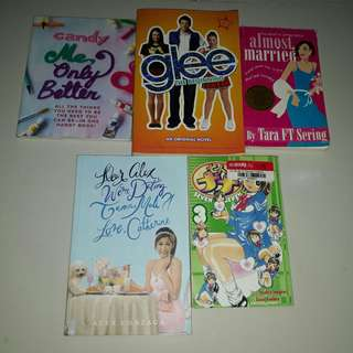 Books Bundle Alex Gonzaga Glee Candy Magazine