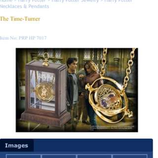 Authentic Harry Potter Time Turner Display Set BNIB