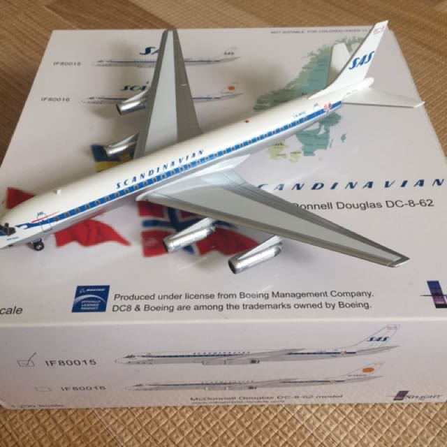 Mog Station Login >> 1/200 InFlight DC-8-62 SAS Model DieCast, Toys & Games, Others on Carousell