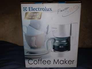 庫存全新 Electrolux 咖啡機
