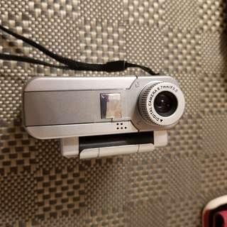 非常古老裝電池的攝影機