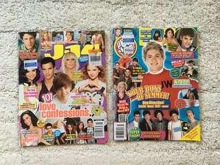 PopStar & J-14 Magazine (Free posters!)