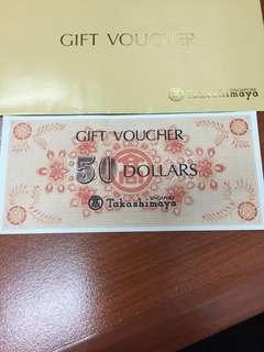 Taka $50 + NTUC $30 Vouchers