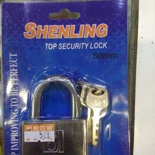 50mm鎖頭鑰匙三把50元限來店買點我頭像看店址和上千種商品