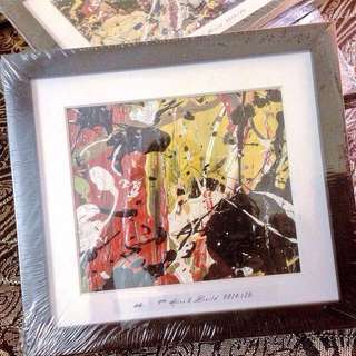 Abstract Painting with Frame #ramadan50