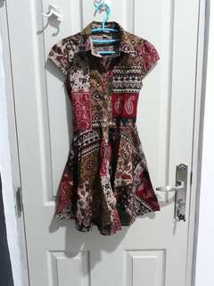 #mausupreme dress batik