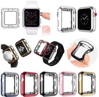 Apple Watch 電鍍表框軟套