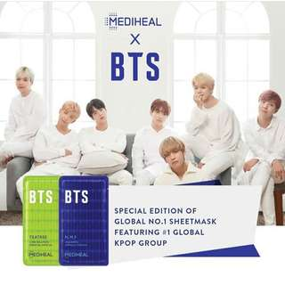 Mediheal x BTS Hydrating Care