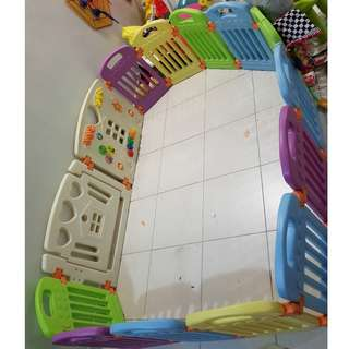 Coby Haus Baby Fence / Play Pen (12+2 Panel)