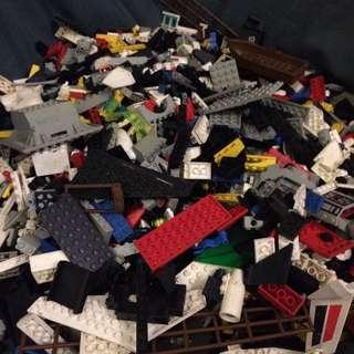LEGO樂高正版散磚零件🐎二手出清隨機出貨🐲100公克100元❤️量多有折扣