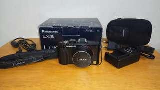 Kamera Panasonic Lumix LX5 lensa Leica