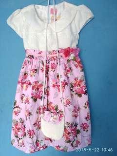 Dress flower Pink