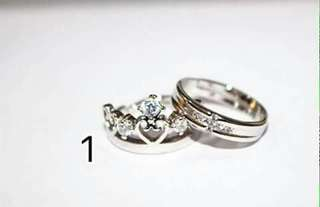 Plated Couple Ring