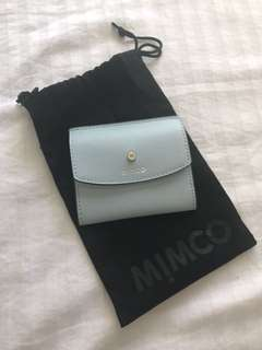Mimco Micra Fold Card Case - Chalk